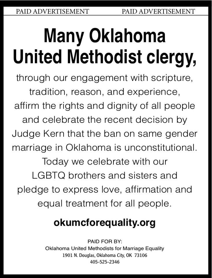 Oklahoma United Methodists for Equality