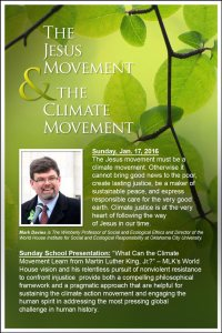 The Jesus Movement and the Climate Movement
